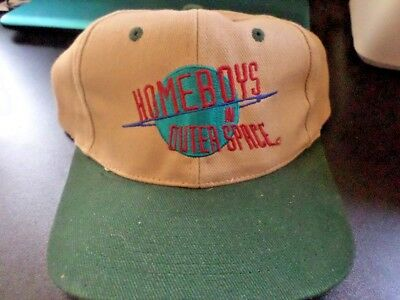 Vintage HOMEBOYS IN OUTER SPACE baseball cap hat Original TV Series BRAND  NEW! 04cb832d1672