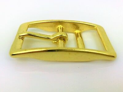 Double Bar Buckle 3/4'' - 19mm Solid Brass or Stainless Steel