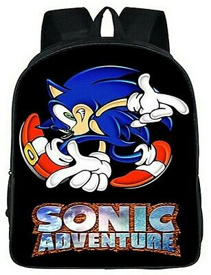 Sonic the Hedgehog Backpack SEGA Full Size Kids Boys Girls New Quality No Tags