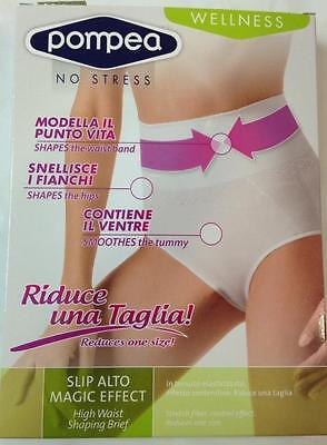Guaina Slip Donna Pompea Vita Alta Modellante Magic Effect Panciera Snellente
