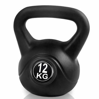 Gym Home Fitness 12kg Kettlebells Training Workout Fitness Kettle Exercise Kit