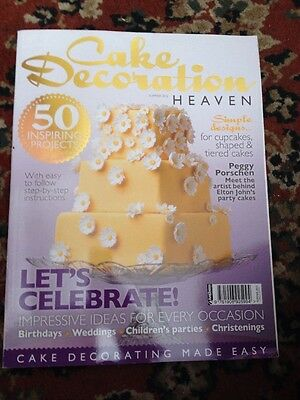 Cake Decoration Heaven Summer 2012 Free Postage