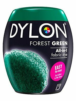 DYLON Machine Dye Pod, Forest Green, easy-to-use fabric colour for laundry, 350g