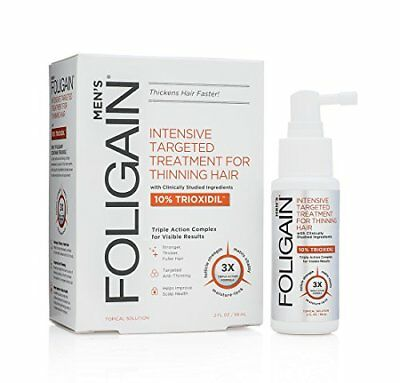 FOLIGAIN HAIR REGROWTH TREATMENT For Men with 10 Trioxidil