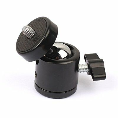 Mini Tripod Ball Head Bracket Holder 14 Screw Ballhead for DSLR Camera