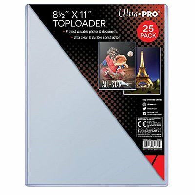 Top Loader - 8-12 x 11 by Ultra Pro