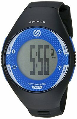 Soleus GPS Pulse Watch Heart Rate Monitor - BlackBlue