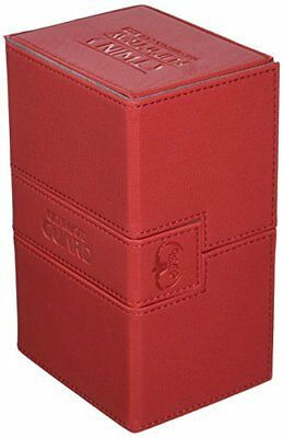 Deck Box Twin Flip N Tray Xeno 160 Card Game, Red