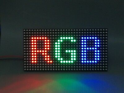 *SHIPS FROM EU* LED Module P10 Outdoor RGB 32x16 320x160mm 1/4 Scan SMD Matrix