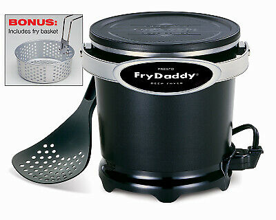 National Presto Ind 05425 Fry Daddy Plus Deep Fryer - Quantity 1