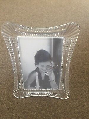 """Amazing Quality WATERFORD CRYSTAL ~ WELLESLEY Picture Photo 4"""" x 6"""""""