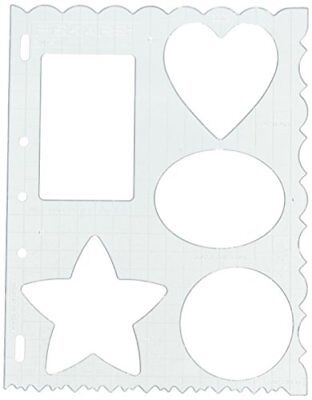 Fiskars Shapes Shape Template, Pink
