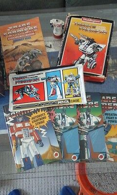 Transformers Colletion Ladybird Books Jigsaw Pencase Stamp Etc
