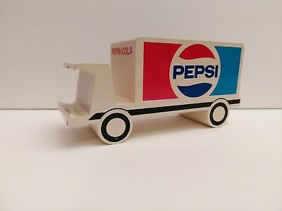 1980's Pepsi New Generation Desk Top Clock Truck, Paperweight, Bottle opener