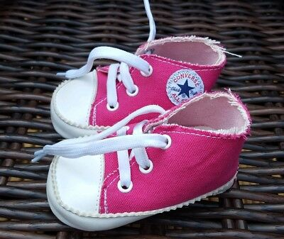 BABY BOYS GIRLS CANVAS SHOES CONVERSE 6-12 months