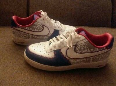 best sneakers cf6ab a34ff Nike air force 1 Af-1 puerto rico red white prm QS 07 Supreme FOG