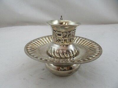 Sterling Silver 925 Used Mayim Achronim Hand Washing Cup Last Water Set