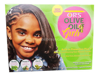 Ors Olive Oil Girls Texture Softening System Kit Eur 6