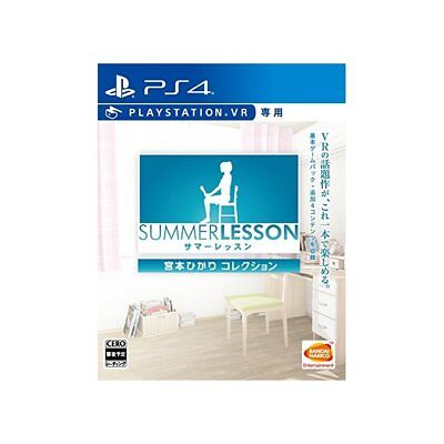 Used PS4 Summer lessons: Hikari Miyamoto collection (VR only) Japan Ver.