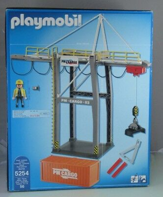 Playmobil 5254 Elektrisches Verladeterminal City Action 56-teilig