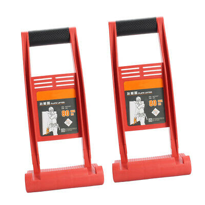 2x Panel Gripper Carrier Plywood Drywall Board Lifter Handy Grip Load Tools