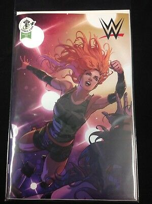 Wwe #14 Boom Becky Lynch Retailer Variant Cover Eccc 2018 Exclusive Hot Book