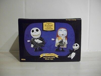 RARE Neca Nightmare Before Christmas Jack and Sally Wind-Ups (BNIB)