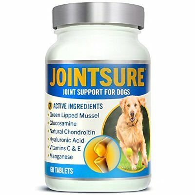 JOINTSURE Joint Supplements for Dogs. Advanced Formula with 7 High Strength Acti