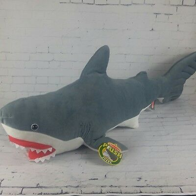 Melissa And Doug Giant Shark Week Plush Stuffed Animal Over 3 Ft