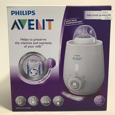 Philips AVENT Bottle Warmer, Gently and evenly heats Fast