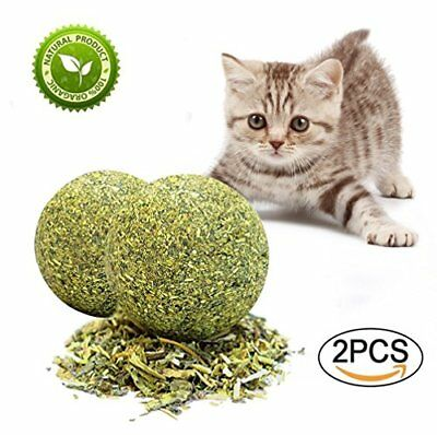 RIO Direct Matatabi Catnip Toys, Dental Care Catnip Ball Toys Natural Cat Treats