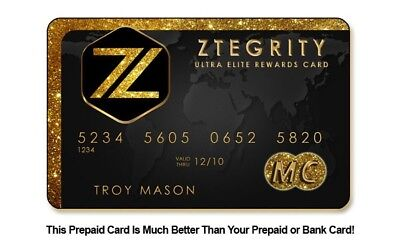 Affiliate MasterCard or Visa Debit Card with Credit Booster (UPDATE 12/2/18)