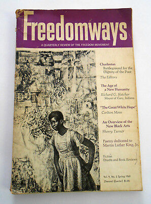 Freedomways A Quarterly Review Of The Freedom Movement Spring 1969