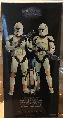 Sideshow Star Wars Boil and Waxer with Numa - 1:6 Sixth Scale Figure Set!