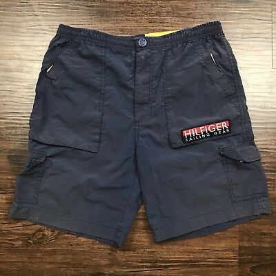 Vintage Tommy Hilfiger Sailing Gear Shorts Size Medium 90s