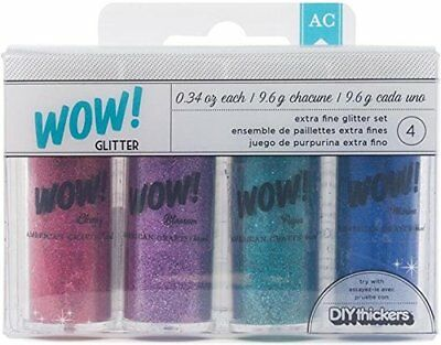 American Crafts WOW Extra Fine Glitter 0.34oz -Everyday 2