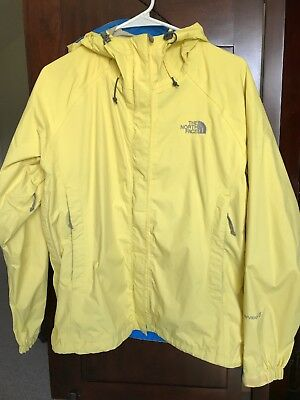 5710fae5a THE NORTH FACE Hyvent DT Rain Windbreaker Jacket Women's Size Medium Yellow