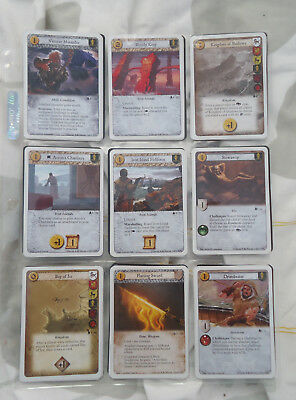 80x A Game of Thrones: The Card Game Cards Mixed Lot 2008, 2010, 2011