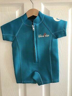 Baby Wetsuit Two Bare Feet 9-12 Months XXXS
