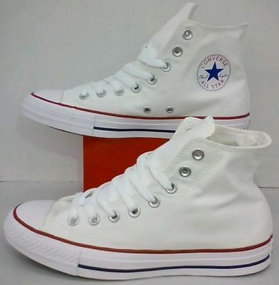 Converse All Star Chuck Taylor Hi Top Canvas Optical White M7650 All Size
