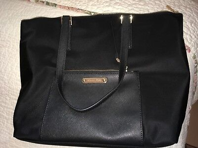 306dbb538bdc NEW WITH TAGS Michael Kors Black ARIANA Large Tote. MSRP: $248 ...