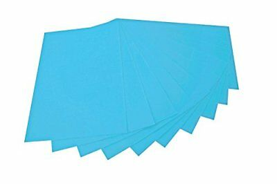 Folia 520430Craft Felt 20x 30cm, 10sheet, light blue
