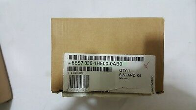 Siemens PLC 6ES7336-1HE00-0AB0 Analog Module NEW IN BOX