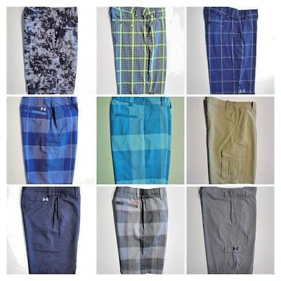 Youth Boys UNDER ARMOUR SHORTS Golf Casual School -ALL Sizes