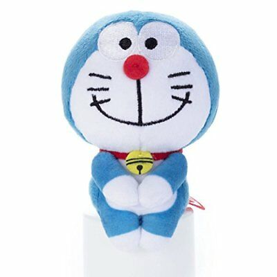 "I'm doraemon ""Chokkorisan"" Plush Doll Doraemon stuffed toy height 14cm"