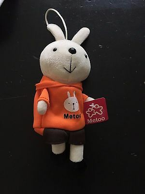 NEW Cute Orange Bunny Purse Coin Bag Pouch, Stuffed Animal Bunny Toy for kids