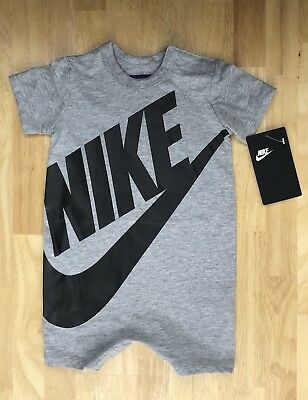 detailed look 1ed3f f5a96 Nike Baby Boys Futura Romper Infant Bodysuit Size 6 9 Months
