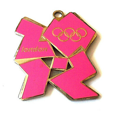 London Olympic Games 2012 Charm Collectible Neon Pink Sports Logo Rings Uk Rare