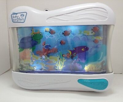 Baby Einstein Ocean Crib Soother Musical Lighted night light fish Motion