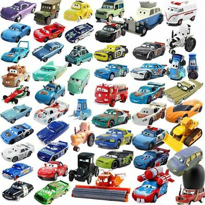 Disney Pixar Cars 3 2 Diecast Frank Sally Mcqueen Smokey Mater King Loose Toys